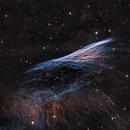 NGC 2736 Pencil Nebula 202103 Image acquisition by Gregory Turgeon - Edit Allan Alaoui LHOORGB 01.4.3,                                Allan Alaoui