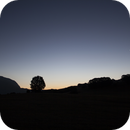 Moon smiles after star party (Forca Canapine),                                Andrea Storani