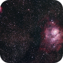 Lagoon and Trifid,                                LakeFX