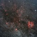 Dust and H alpha regions in Cepheus,                                K. Schneider
