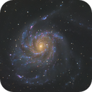 Messier 101 - My first OAG Field Test,                                Nico Augustin