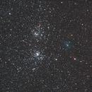Comet C/2017 T2 (Panstarrs) near Perseus Double Cluster,                                Paolo Demaria