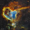 IC 1805 - La nébuleuse du coeur - SHO,                                Séb GOZE