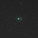 Cat's Eye Nebula NGC 6543  with L-enhance,                                Detlef Möller