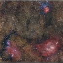 M8 and M20 - NGC 6559 ,                                Jesús M. Vargas