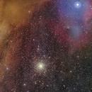 Messier 4 (NGC 6121) region,                                Giuseppe Donatiello