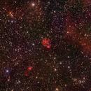 Sh2 147, 148, 149, 152 and 153 H-alpha RGB,                                jerryyyyy