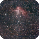 ngc 7380 of 19th and 20th of August 2020 - 260 120secs unguided subs in 2 nights,                                Stefano Ciapetti