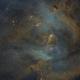 IC2944 - Hubble Palette,                                Rogerio Alonso
