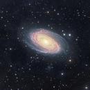 Ursa Major 's beauty - Bode 's Galaxy M81 with IFN,                                Arnaud Peel