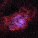 Lagoon nebula HOO version,                                Patrice RENAUT