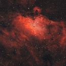 Adlernebel Messier 16 in HaOIIIRGB,                                Alexander Voigt