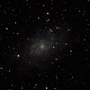 M33 - 20201226 - Evoguide ED 50,                                altazastro