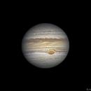 Jupiter avec la GTR et Europe,                                BLANCHARD Jordan