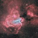 Inside M17-nébuleuse de l'oméga-HOO,                                astromat89