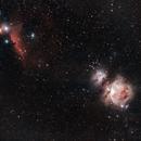M42 Orion & IC434 Horsehead Nebula,                                star-watcher.ch
