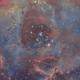 Rosette Nebula NGC2237 (the heart),                                Carastro