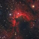 Cave Nebula (HaRGB),                                John Renaud