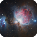 M42 the great Orion nebula DSLR image with HDR composition,                                Kees Scherer