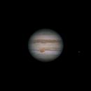 Jupiter 2020-07-20. Ganymede and GRS,                                Pedro Garcia