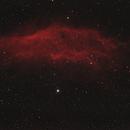 California Nebula,                                Comatater