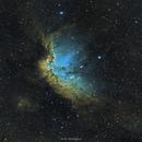NGC7380 Wizard Nebula SHO,                                Girish