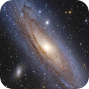 A challenging Andromeda,                                Daniele Gasparri