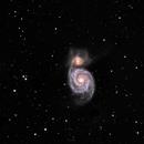 M51 in LLRGB,                                Tom Gray