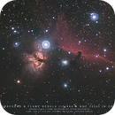 Horsehead & Flame Nebulas : first light ASI183MC Pro,                                Christophe Perroud