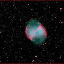 M27 The Dumbbell Nebula,                                AlBroxton