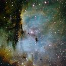 Pac Man Nebula,                                burble