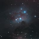 """NGC 1976 (M 42) and NGC 1977 (""""Running Man Nebula""""),                                don_iguanodon"""
