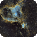 NGC896 heart nebula in narrowband,                                Philipp Weller