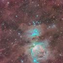 Dusty Orion Wide Field,                                Mirko M
