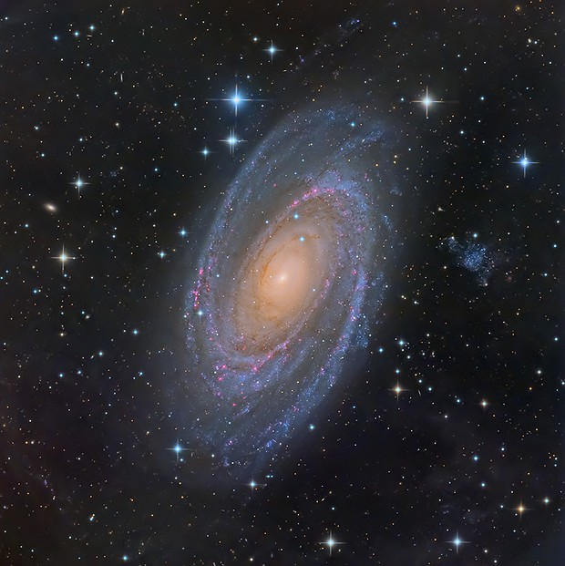 Bode's Galaxy (M81),                                KuriousGeorge