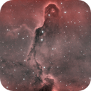 Elephants Trunk Nebula in HOO,                                felixwegerer