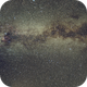 Milky Way with Jupiter and Saturn,                                Seldom
