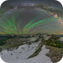 Airglow over the Tetons,                                  Shane