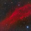 NGC 1499 The California Nebula in HaRGB,                                Eshan Toorabally
