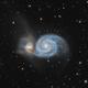 Whirlpool Galaxy (M51),                                Wintyfresh