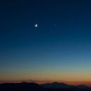 Moon and Venus,                                Leonardo Ciuffolotti