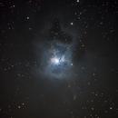 Iris Nebula (NGC7023) in (CLS+Hα)RGB,                                Jose Carballada