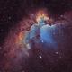 NGC7380 - the Wizard nebula,                                Arnaud Peel