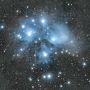 M45 Pleiades - With Star Adventurer,                                Pea@Mauro