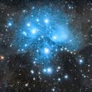 M45 - Pleiades: 2020 Attempt,                                Steve Eltz