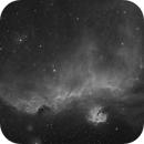 IC2177 Wide Field in H-alpha,                                mikefulb
