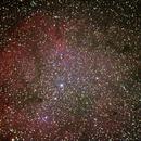 Emission Nebula IC1396,                                ckrege
