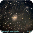 NGC 6951 - 'Integrated Flux Nebula' in Cepheus.,                                astroeyes