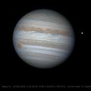 Jupiter- Io 15 ins after transit,                                wavydavy_fl