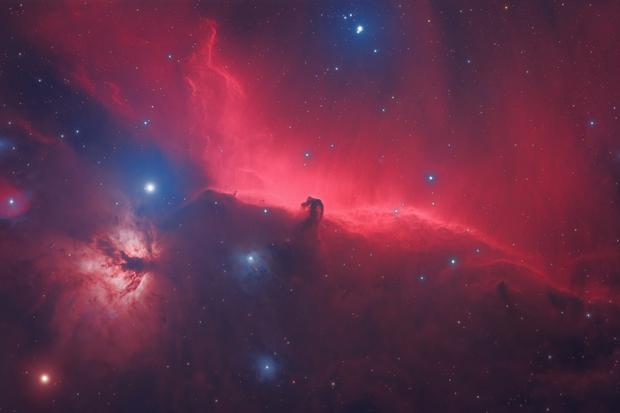Horsehead Nebula,                                William Burns